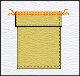 Tutoriel: monter une poche plaquée à rabat