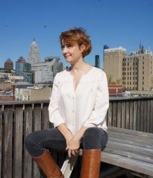 Top Pretty Baby sur un rooftop à New York