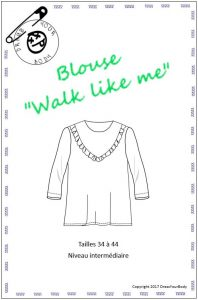 Blouse Walk like me