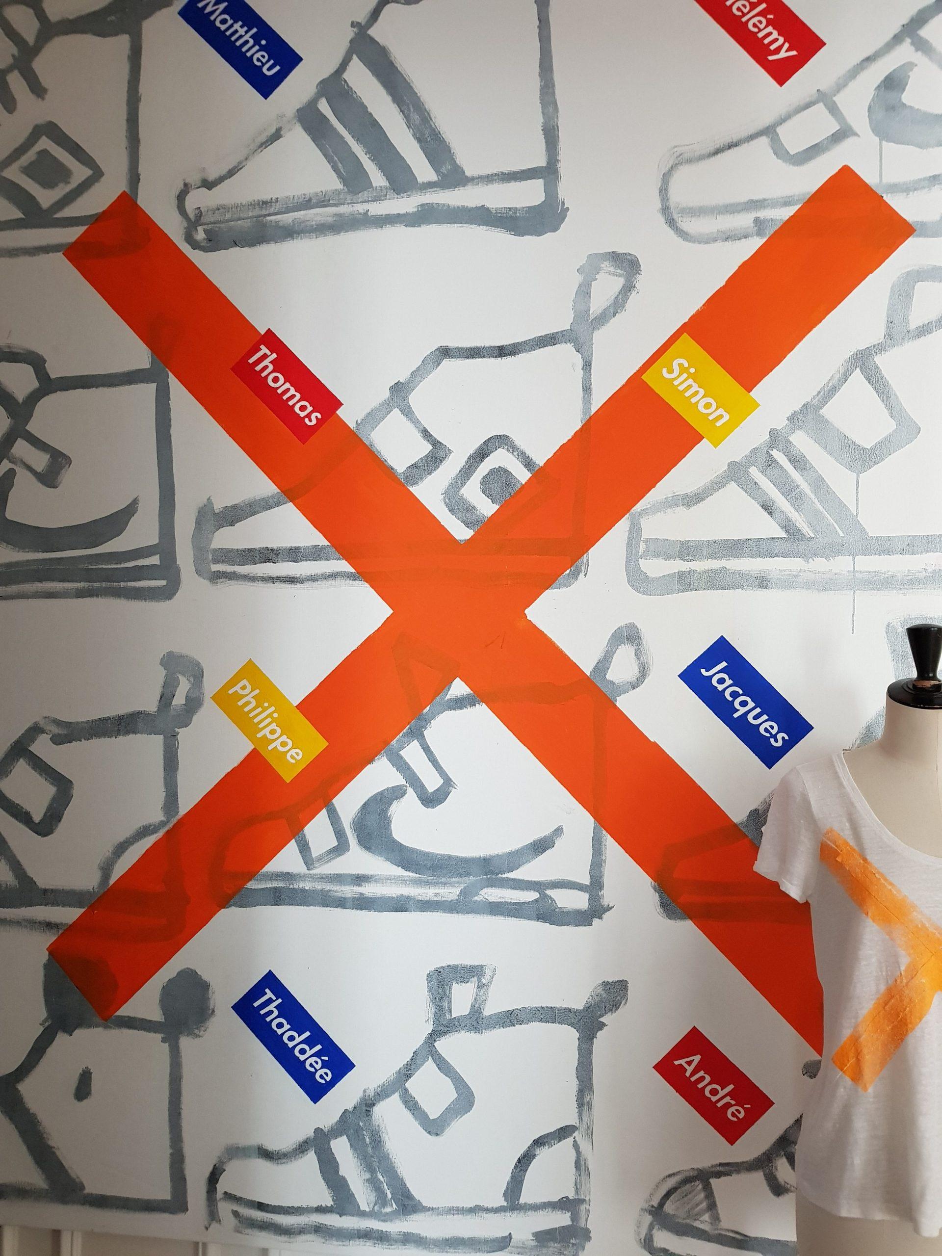 t-shirt X-Offender d'après Les nouveaux Apôtres