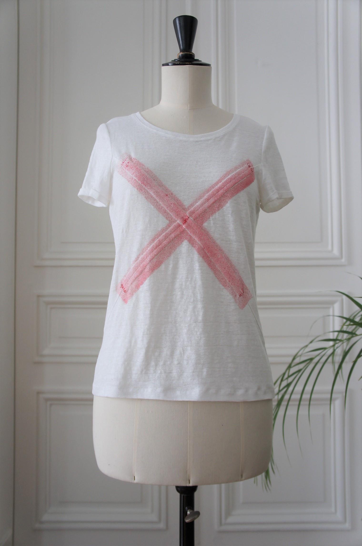 Patron du t-shirt X-Offender N°1