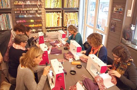 Frou-Frou cours de couture Paris 18ème